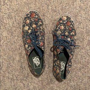 Floral Lo-Pro  Vans